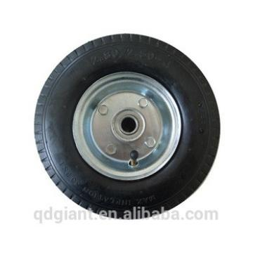 Cart pneumatic wheel 2.50-4 with metal rim