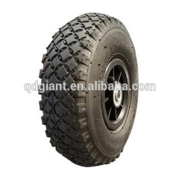 10 inch pneumatic rubber wheel 4.10/3.50-4