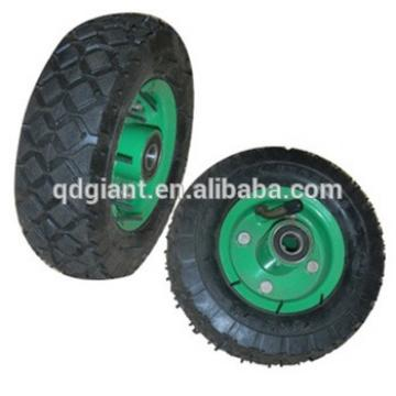 6 inch pneumatic rubber wheel for tool cart