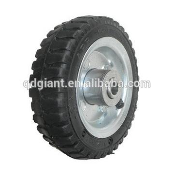 6 inch pneumatic rubber wheels