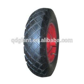 thick metal rim wheelbarrow wheel 3.50-8