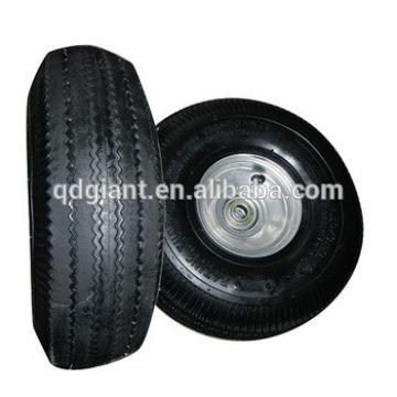 10x3.50-4 pneumatic rubber trolley wheels