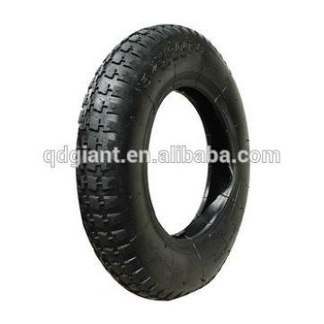 nature rubber wheel tyre and inner tube 3.00-8 for wheel barrow
