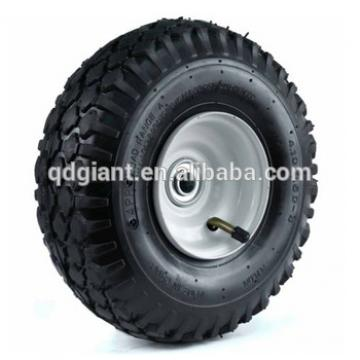 410/350-4 10 in. Stud Tread Hand Truck Wheel, 2-1/4 x 5/8 in. Offset Hub