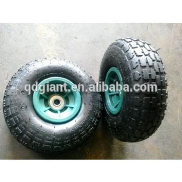 Multifunctional small rubber wheel and tires for trolley cart machine.