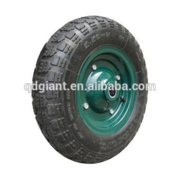 Inflatable rubber wheel 3.50-5
