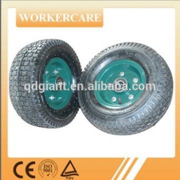 13x6.5 inch heavy duty hand trolley wheel 5.00-6