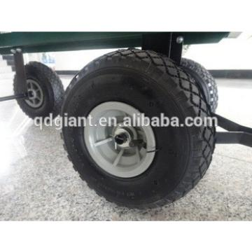 260x85mm plastic rim pneumatic garden cart wheel