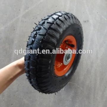 Korea market high quality 260x85mm trolley rubber wheel