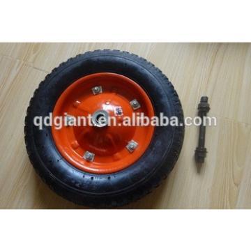 High quality Korea market wheelbarrow wheel 325-8 pneumatic