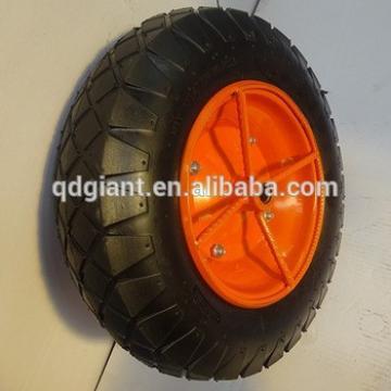 Peru wheel barrow wheel 3.50x8 with ultra-rugged rim