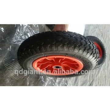 Wheelbarrow rim wheels 3.50-8 with diamond pattern