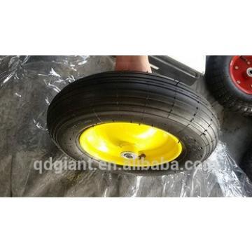 Caster wheel for wheelbarrow