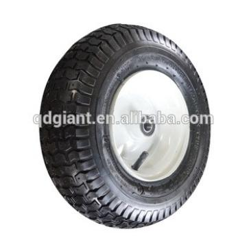 13x5.00-6 good quality mesh cart pneumatic wheels with good metal rim