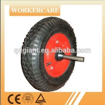 Wheel barrow wheel with axle 4.00-8