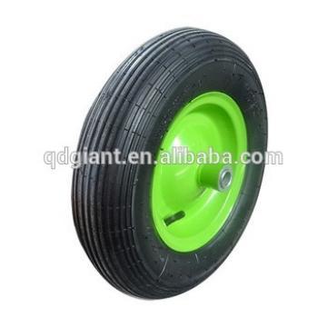 """Garden wheelbarrow rubber wheel 16""""x4.00-8"""