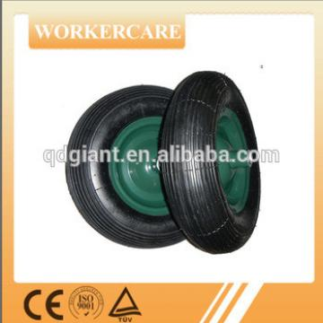 16 inch wheelbarrow rubber wheel 4.00-8