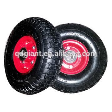 Metal rim 10inch wheel for hand trolley