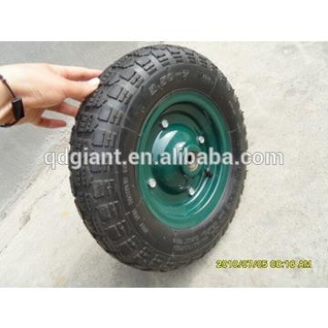 Wheelbarrow tyre and tube / rubber wheel 3.50-7 for Turkey