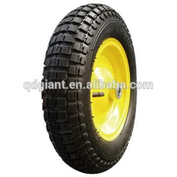 "14"" pneumatic wheel for wheelbarrow"