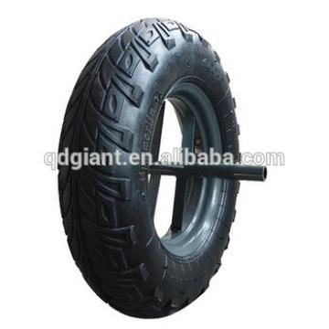 Qingdao factory supply Rubber wheelbarrow tire and tube