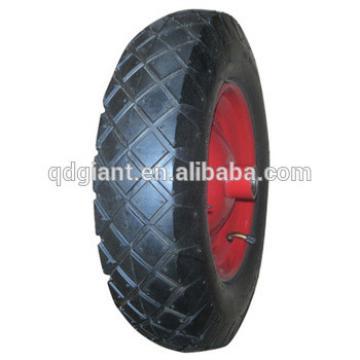 """14"""" large cross pattern pneumatic wheel for wheelbarrow"""