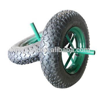 wheel barrow spoke wheel and axle 3.50-8