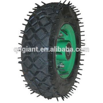 "6""X2"" mini pneumatic wheel for cart"