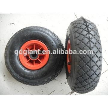 "10"" rhombus pneumatic wheel for cart"