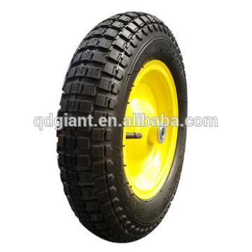 Brazil model pneumatic rubber wheelbarrow tire 3.50x8