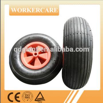 300mm pneumatic wheel with PP or steel rim 3.50-6