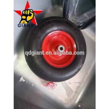 steel rim pneumatic wheel 3.50-6 for wheelbarrow