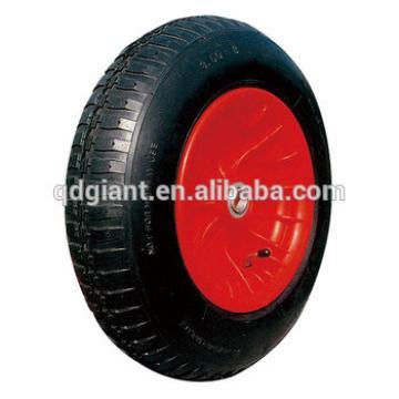 """large cross pattern pneumatic wheel 14""""X3.50-8 for wheelbarrow"""
