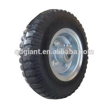 8X2.50-4 lug pattern pneumatic wheel