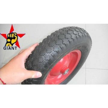 wheelbarrow wheel 4.80/4.00-8 with pneumatic rubber tyre