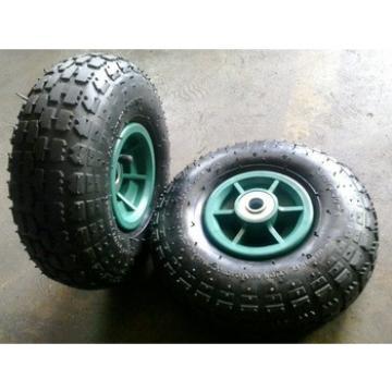 Metal rim 3.50-4 air rubber tire