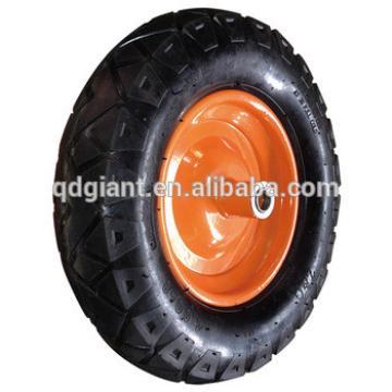 400-8 pneumatic wheels Steel rim