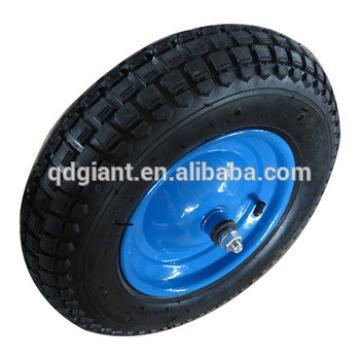 Heavy duty pneumatic wheelbarrow wheel