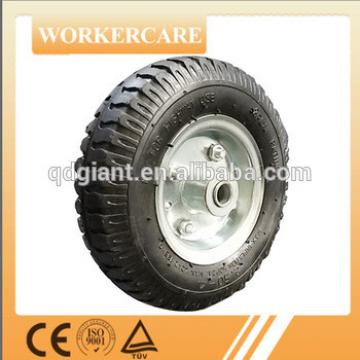 260mm pneumatic wheel for trolley 2.50-4