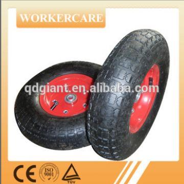 10-12 inch pneumatic hand trolley wheels 4.00-6/3.50-4/3.00-4/10X2.5