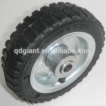 6 inch Pneumatic rubber wheel