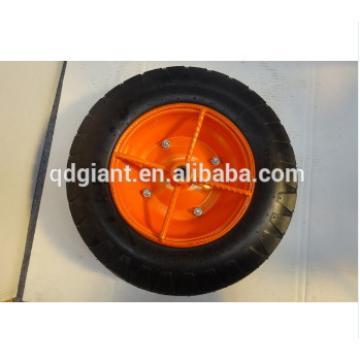 Portable 4.00-8 pneumatic wheel with steel rim