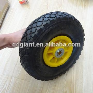 10inch pneumatic rubber trolley and barrow wheels
