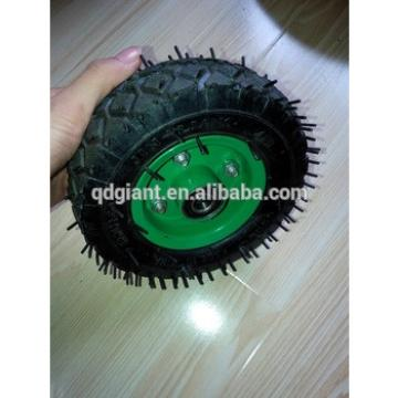 """6""""X2"""" small pneumatic rubber wheels for wagon cart"""