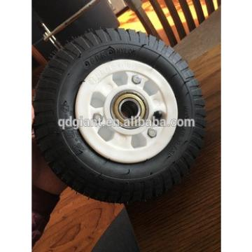 """8""""x2.50-4 rubber wheels for garden cart and hand trolleys"""