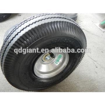 cheap rubber wheels pneumatic wheel trolley wheels 3.50-4