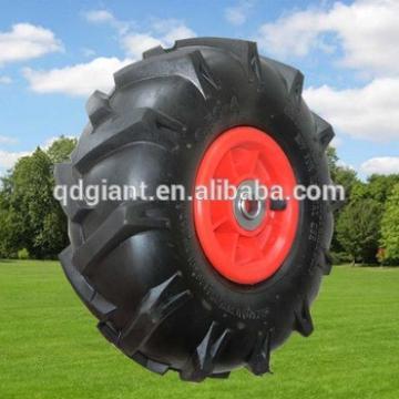 agricultural farm wheelbarrow wheel rubber wheels for sale 3.50-4