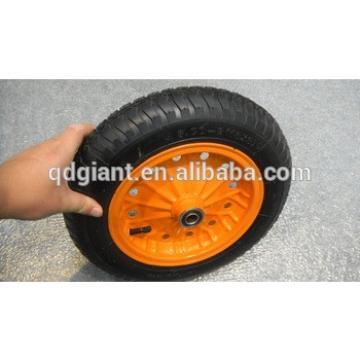 chinese supplier pneumatic tyres rubber wheelbarrow wheels 3.00-8