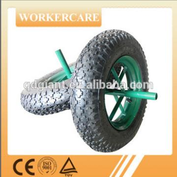 solid,PU foam and pneumatic garden cart wheels and tires 3.50-8