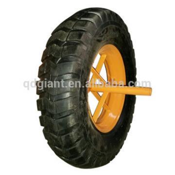 2&4PR 16 inch pneumatic wheel 4.00-8 for wheelbarrow